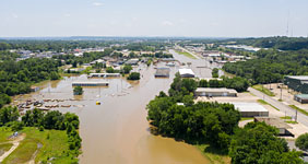Historic Flooding Arkansas Oklahoma Electrical Damage Dry Type Transformers Oil Filled Transformers